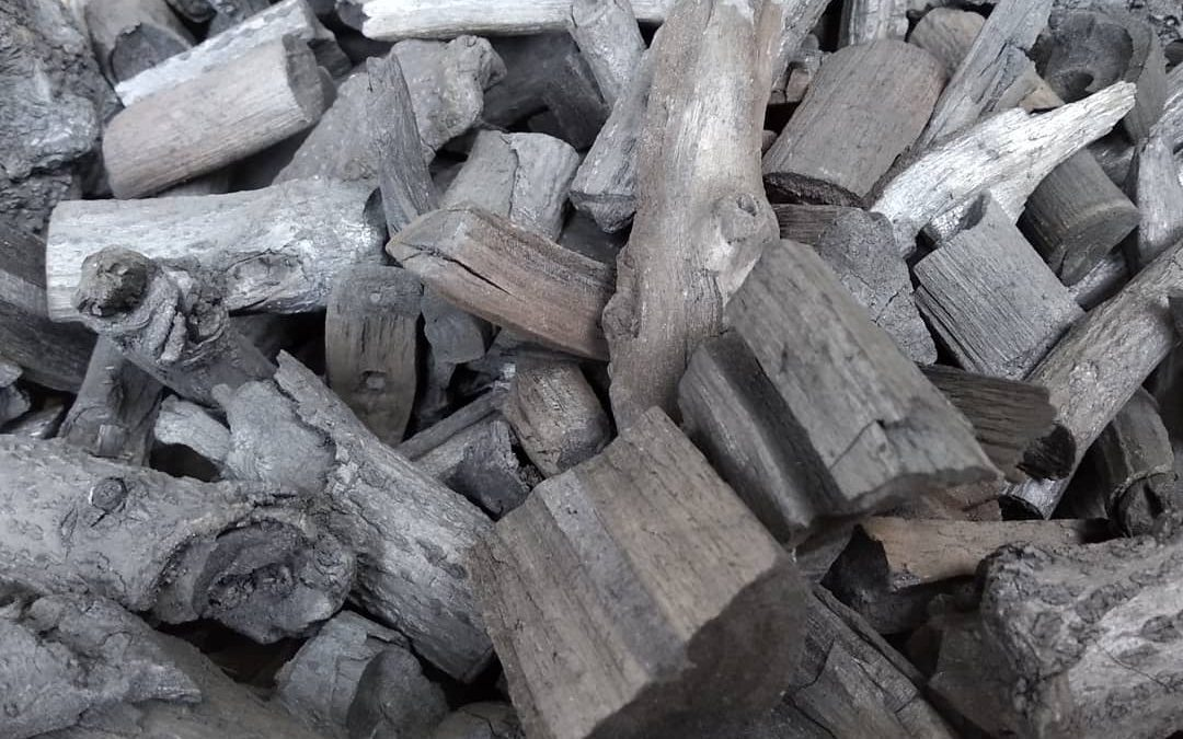 Make your own charcoal from woods